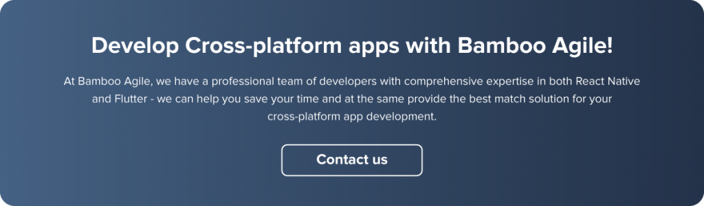 Cross-platform app development with Bamboo Agile