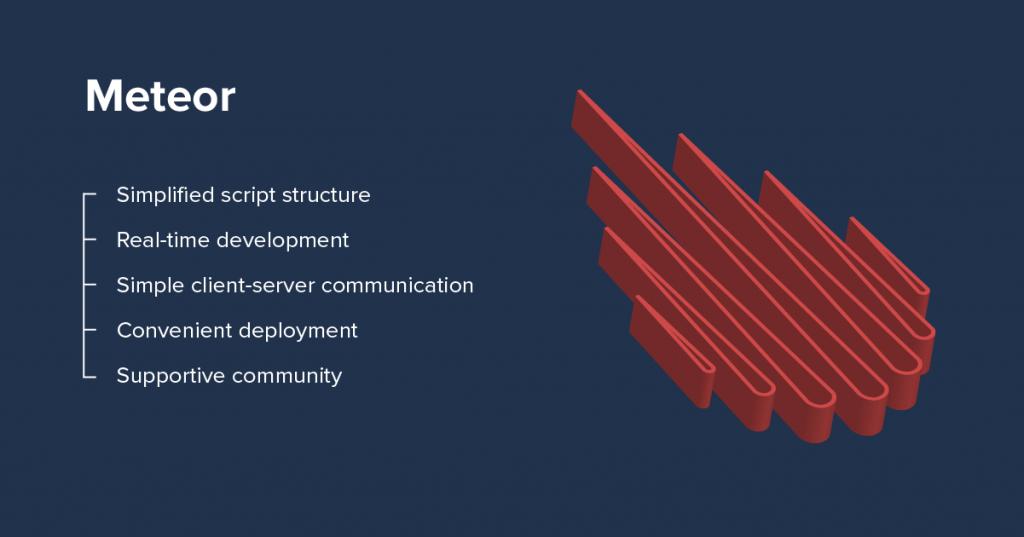 meteor advantages - top 7 javascript frameworks in 2021