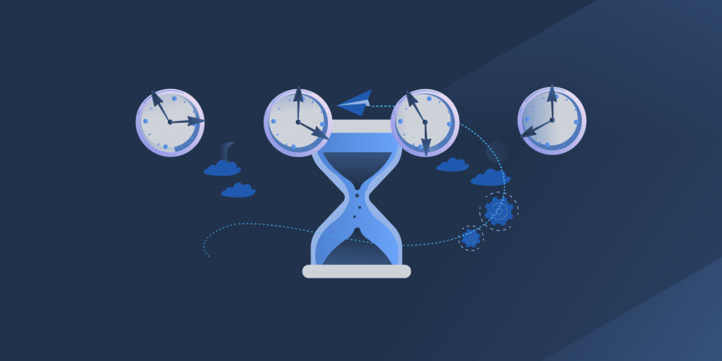 Time difference when outsourcing software development services