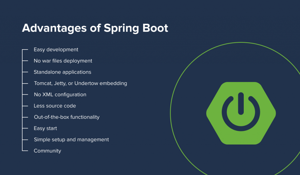 Advantages of a Spring Boot application
