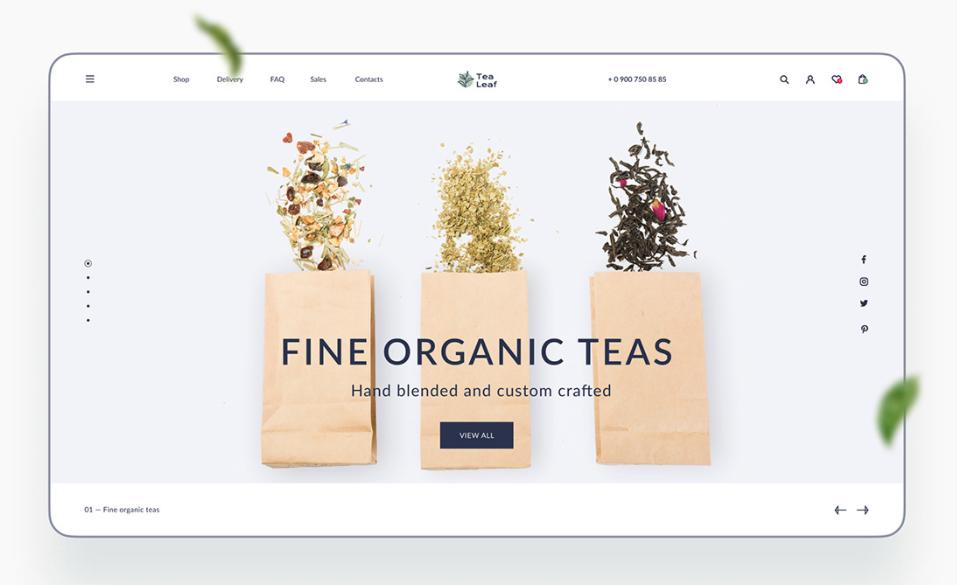e-Commerce App Design: Trend 7. Pastel Colours